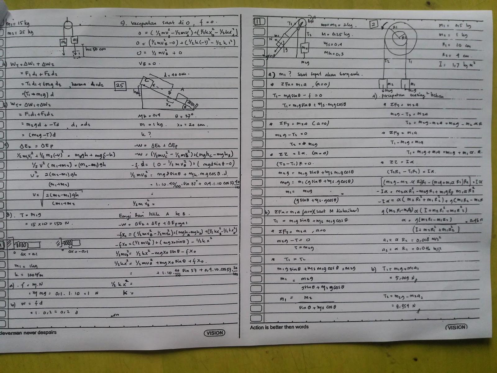 Jawaban Fisika Dasar 1 Soal Soal Bab 3 7 Seri C Upmb Its