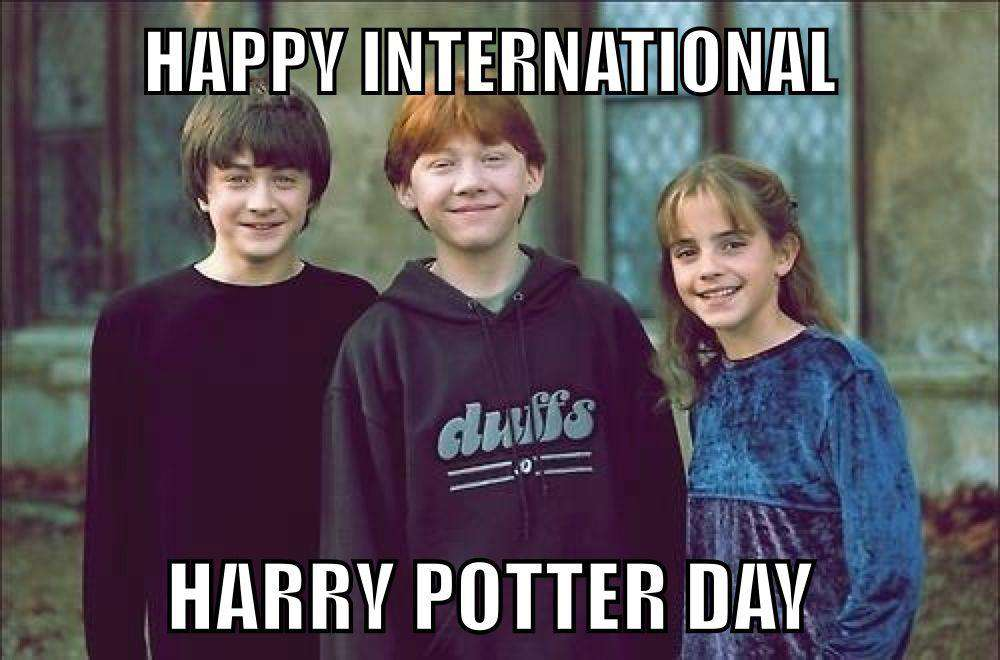 International Harry Potter Day Wishes Images