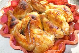курица запеченная в духовке готовая