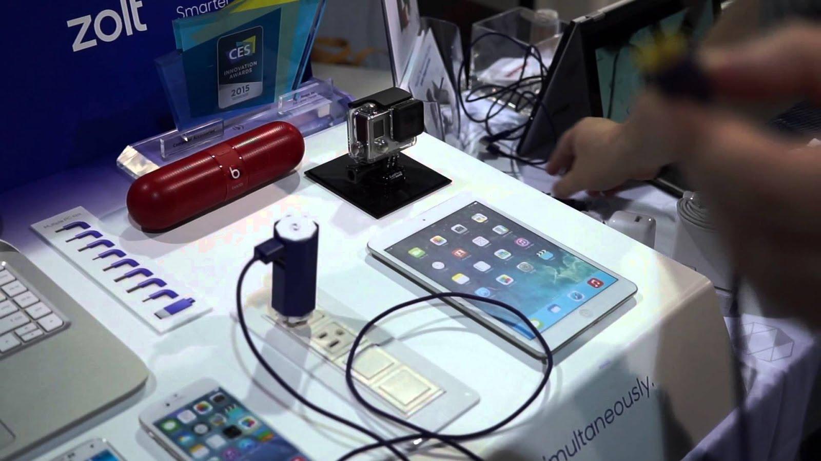Charger Multi Fungsi ZOLT, Bisa digunakan untuk Handphone dan Berbagai Jenis Laptop