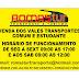 INFORMATIVO ROMASTUR: HORÁRIOS E LOCAL DE VENDAS DE VALES TRANSPORTES COMUM E PARA ESTUDANTES