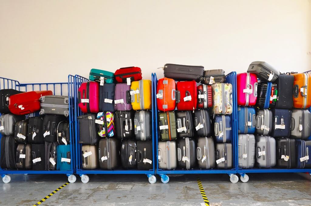 Preço para embalar mala no aeroporto