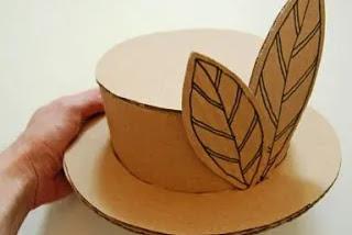 Langkah Membuat Topi dari Kardus