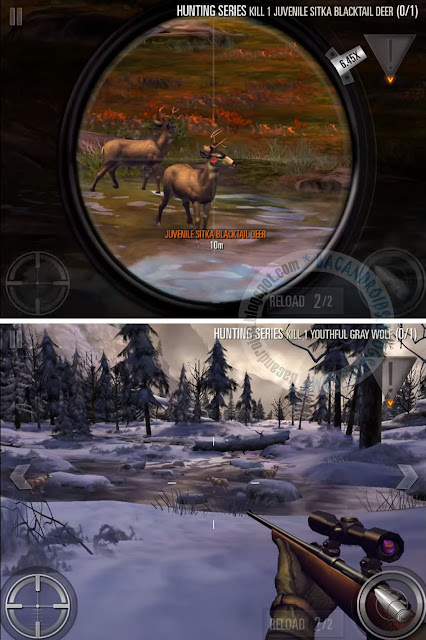 Game Deer Hunter 2016 Mod Unlimited Ammo and No Reload Apk