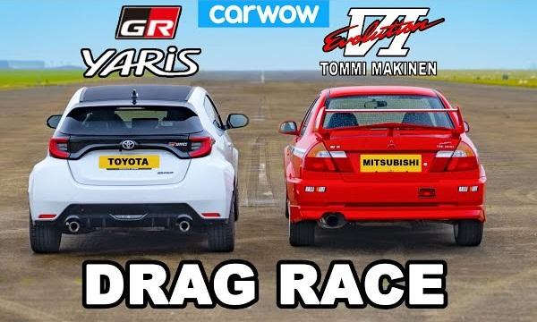 Toyota GR Yaris vs Mitsubishi Lancer Evo VI Tommi Makinen