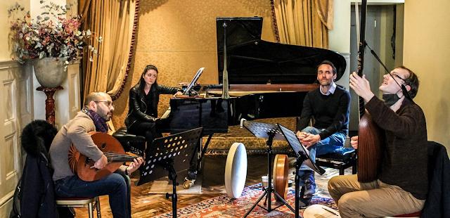 Attab Haddad, Christina McMaster, Antonio Romero, Toby Carr (Photo NW Arts)