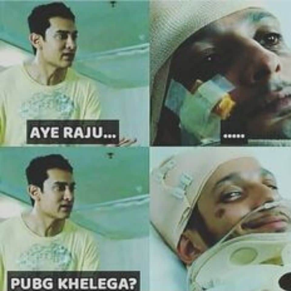 when-in-3-iditos-raju-at-hospital-when-ammir-khan-says-aye-raju-get-up-then-he-not-getuping-then-says-lets-play-pubg