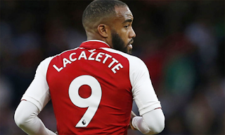 I want to win titles at Arsenal- Lacazette 1