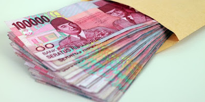 Uang gaji supaya berkah