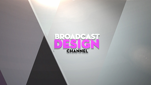 Broadcast Design Channel Ident Preview