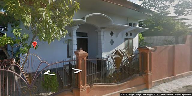 rumah orang tua desain sendiri (sumber: google street view)
