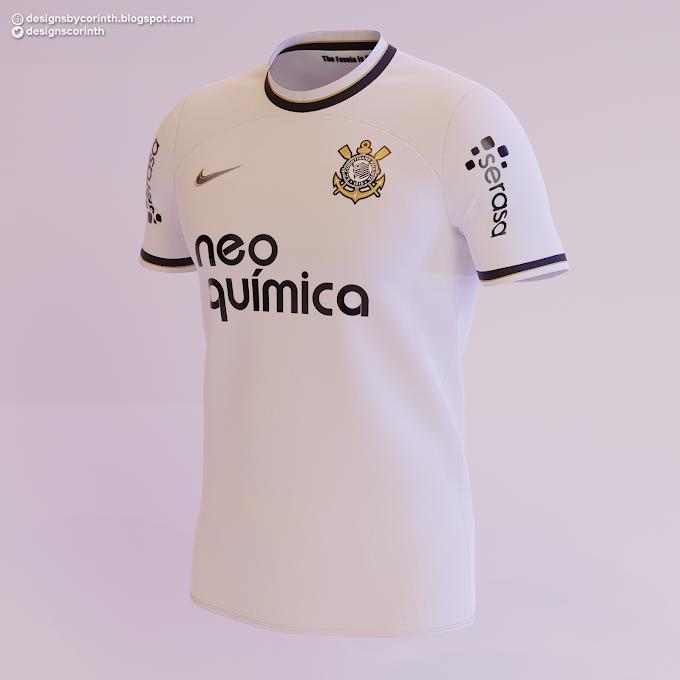 Corinthians - Previsão do Uniforme I 2022-2023 / 2022-23 Home Shirt Prediction