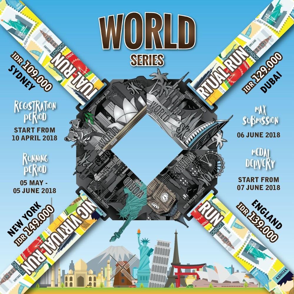 Iconic Virtual Run - World Series • 2018