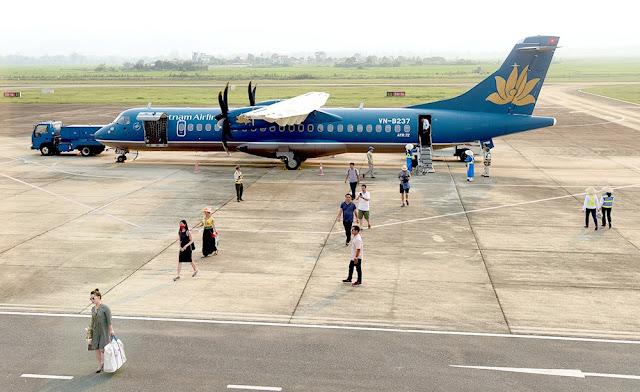 Sân bay Điện Biên hiện chỉ khai thác chặng bay ngắn, tàu bay nhỏ.