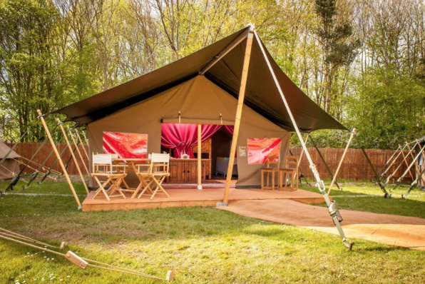 10 UK Zoos Where You Can Stay Overnight  - Chessington glamping
