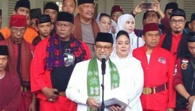 Hadapi Kelompok Anti Anies agar Mundur, Kaum Betawi Lakukan Aksi Kawal Gubernur DKI