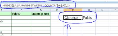 Cara Membuat Nama Secara Acak di Microsoft Excel