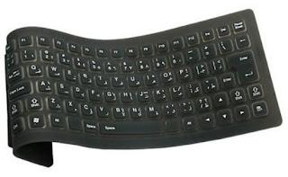 Flexible Keyboard USB by SANDYTACOM
