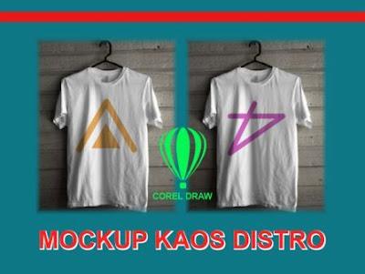 membuat mockup kaos/t-shirt