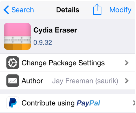 Saurik has released an update for the Cydia Eraser tool which supports for iOS 9.3.3 for iPhone and iPad. Cydia Eraser lets you un-jailbreak or remove iOS 9.3.3 to clean state
