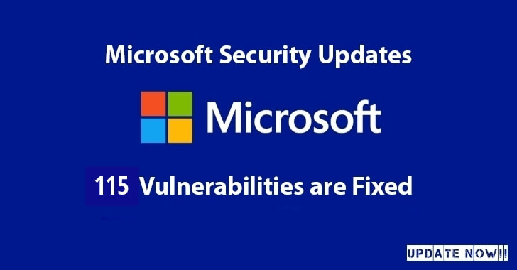 Microsoft Released a Security Update With The Fixes for 115 Vulnerabilities that Affects Billions of Windows Users