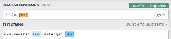 """menentukan teks alternatif dengan menggunakan karakter square bracket """"[]"""""""