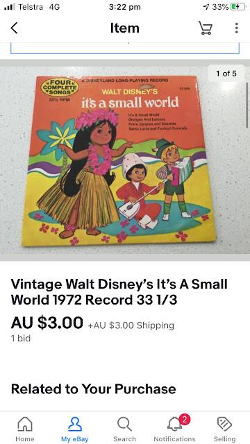 Vintage Disney eBay finds