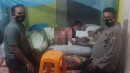 Aksi Peduli Kembali Terjadi, TFTT Polres Tebo Sambangi Rumah Pakde Robi