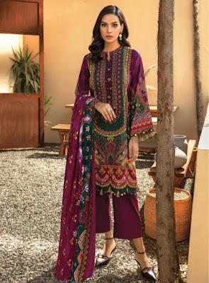 Iris Vol 8 Karachi Cotton Pakistani Dress