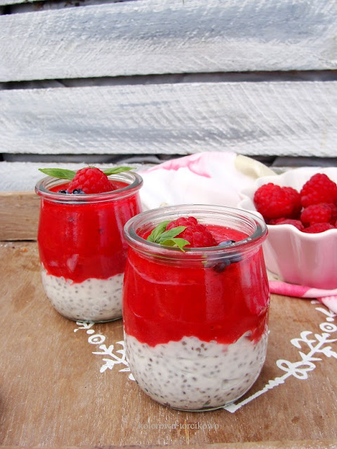 jogurtowy deser