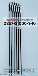 Jual Anak Panah (Arrow) Bambu / Kayu Import Makassar - 0857 2100 0940 (Fitra)