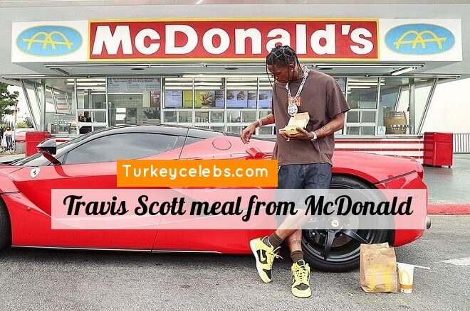 The Travis Scott meal from McDonalds