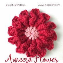 Ameera Flower (Free Crochet Pattern)
