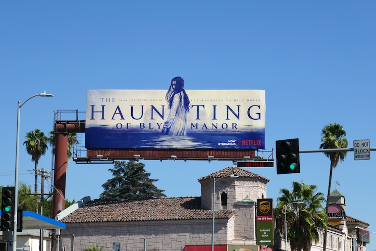 Haunting of Bly Manor cutout billboard