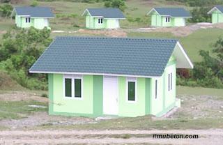 Rumah transmigrasi di Aceh