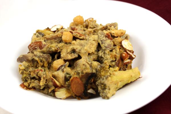 Mushroom, Broccoli and Wild Rice Casserole