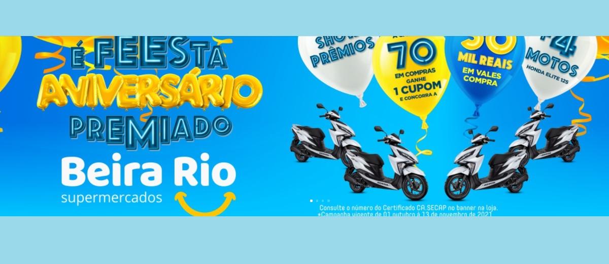 Promoção É Festa Aniversário 2021 Beira Rio