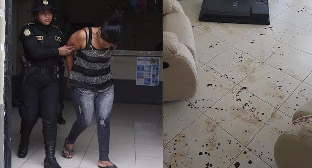 Madre propina 100 machetazos a su esposo que violó a su hija de 5 años