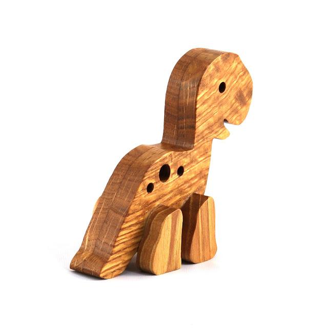Baby Dinosaur - Handmade Wood Toy Animal