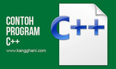 Contoh Program Operator Perbandingan dalam C++
