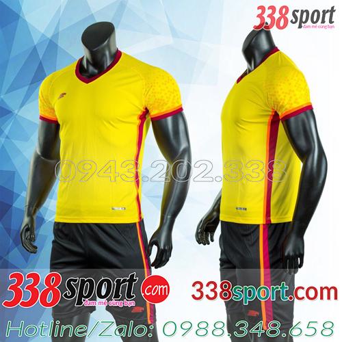 Mẫu Áo Bóng Đá Không Logo Đẹp Puma HB Vàng