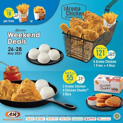 Promo AW Store Weekend Deals Tanggal 26 - 28 Maret 2021