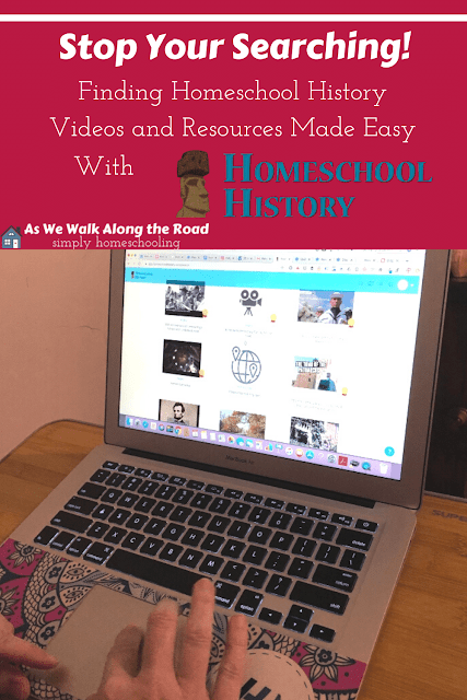 Review of homeschool history database