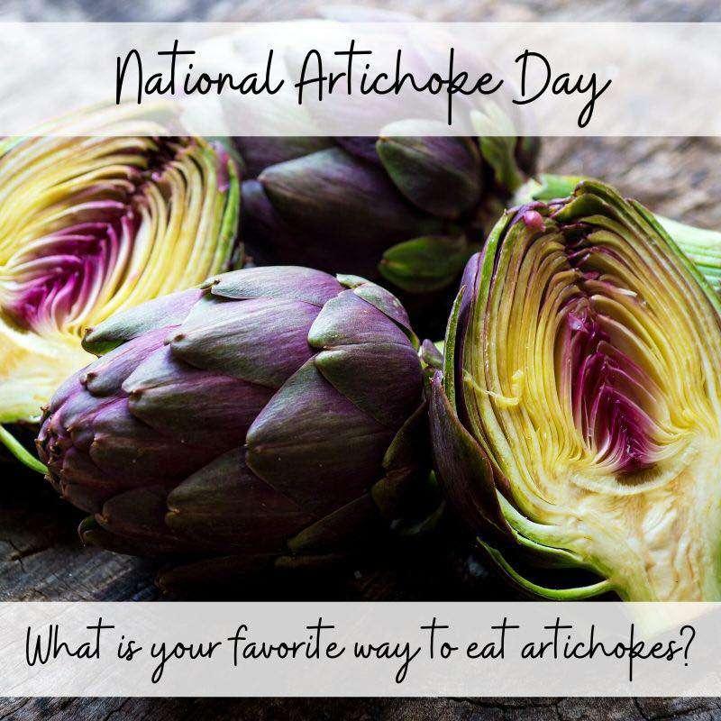 National Artichoke Day Wishes
