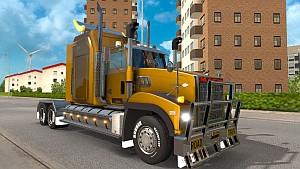 Mack Titan V8 truck mod 1.1