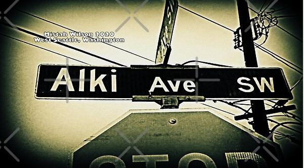 Alki Avenue Southwest, West Seattle, Washington by Mistah Wilson