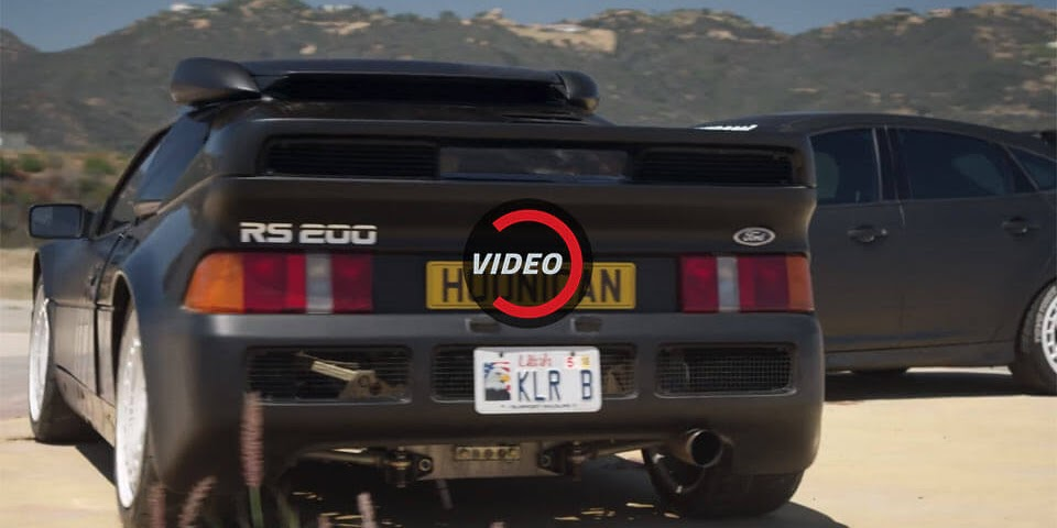 Ken Block's 700 HP Ford RS200 Evo Will Make You Yearn For The '80s