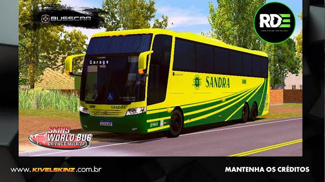 BUSSCAR JUMBUS 360 - VIAÇÃO SANDRA