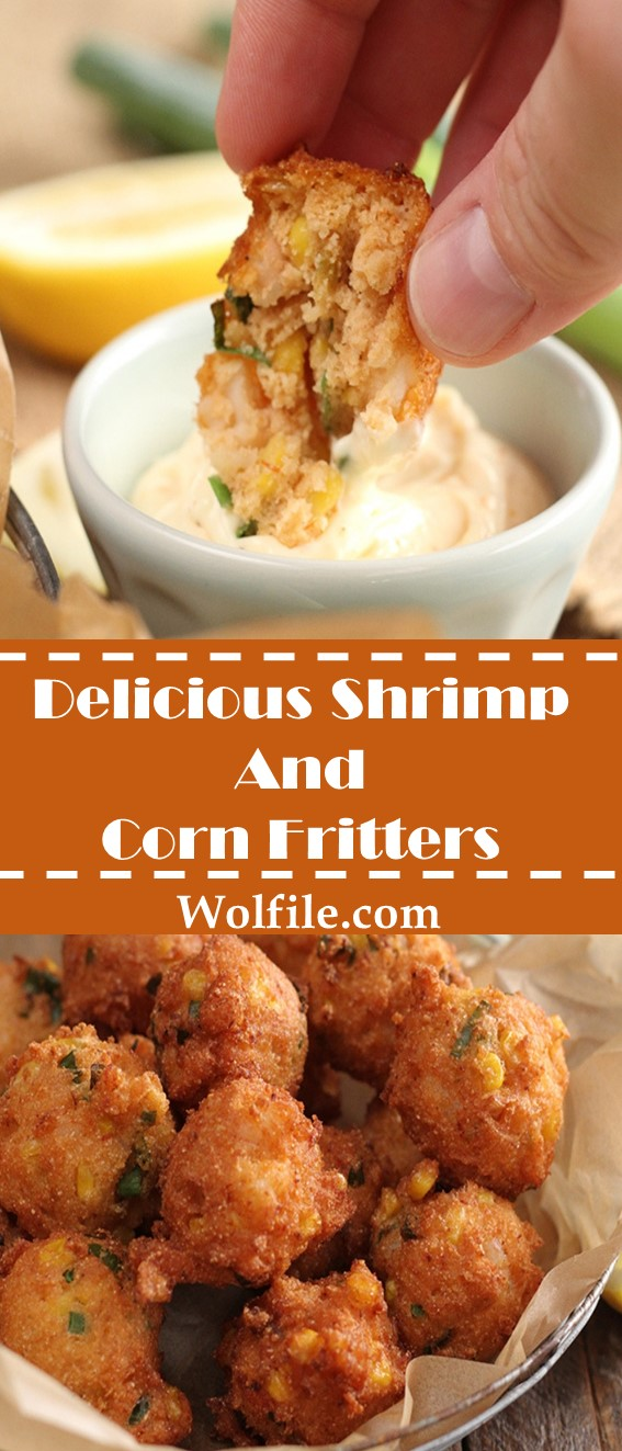 Delicious Shrimp and Corn Fritters Recipe