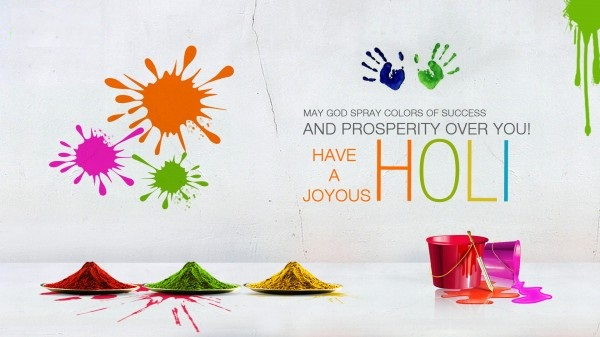 happy holi photos with sms